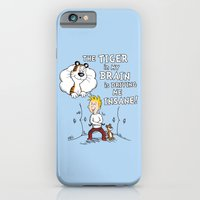 The Tiger in My Brain iPhone 6 Slim Case