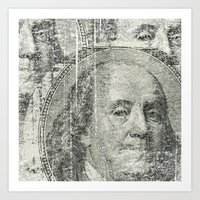 DOLLAR$ and SENSE Art Print