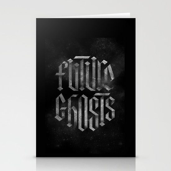 Future Ghosts Stationery Card