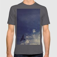Blown Away Mens Fitted Tee Asphalt SMALL