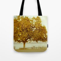 Dreamy Yellow Tote Bag