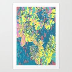 floral 002. Art Print
