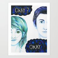 The Fault In Our Stars Art Print