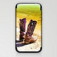 Gone Swimming iPhone & iPod Skin