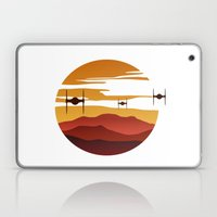 To the sunset Laptop & iPad Skin