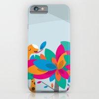 Orange And Trees iPhone 6 Slim Case