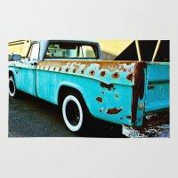 Rusty Dodge Rug