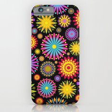 Bright And Colorful Flowers iPhone 6s Slim Case