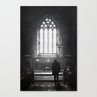 In Awe Canvas Print
