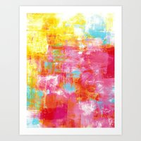 OFF THE GRID 2 Colorful … Art Print
