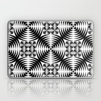 Geometric Damask Pattern Laptop & iPad Skin