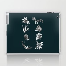 Botanica Letters   Forest Green Laptop & iPad Skin