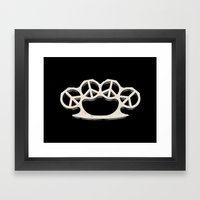 Peace Weapon Framed Art Print