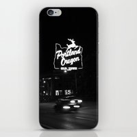 Portland BW iPhone & iPod Skin