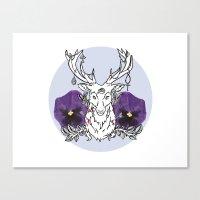 Reindeer Canvas Print