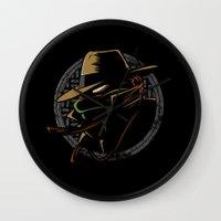 Undercover Ninja Mikey Wall Clock