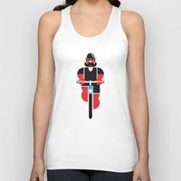 Bicycle Man Unisex Tank Top