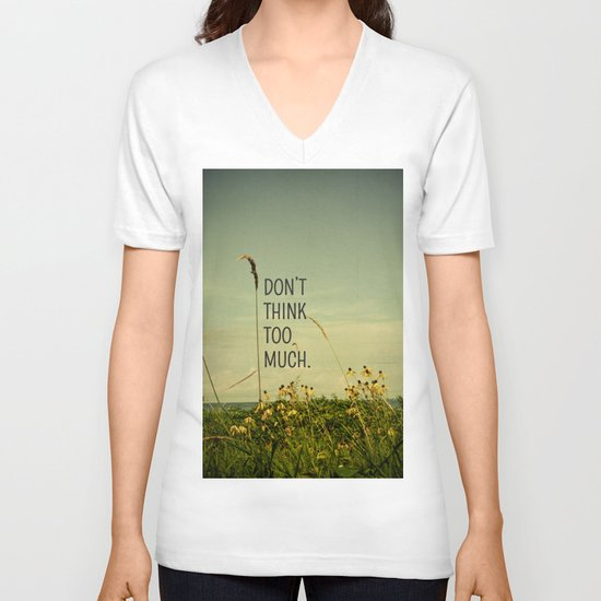 Travel Like A Bird Without a Care V-neck T-shirt