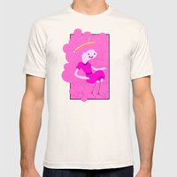 Bubblegum Mens Fitted Tee Natural SMALL