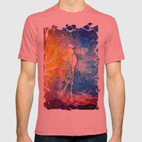 the man behind the sun Mens Fitted Tee Pomegranate SMALL