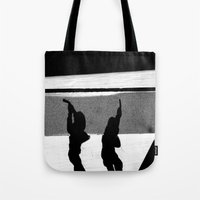 ShadowS Of The Dead Tote Bag