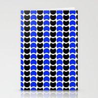 HobNob BlueBlack Print, Canvas and Laptop/iPad Skin Stationery Cards