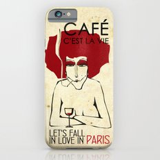 Café c'est la vie - Paris iPhone 6 Slim Case