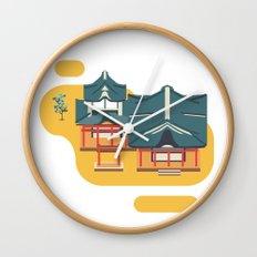 Kyoto icon Wall Clock