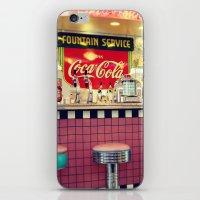 Retro Diner iPhone & iPod Skin