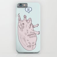 iPhone & iPod Case featuring Oink! by Sam Scales