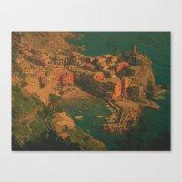 Vernazza, Italy Canvas Print