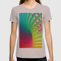 Rainbow Spring 7 Womens Fitted Tee Cinder SMALL