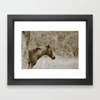 Missi Framed Art Print
