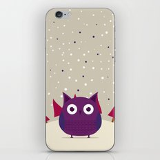 Cute owl iPhone & iPod Skin