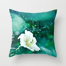 Off to Neverland Throw Pillow