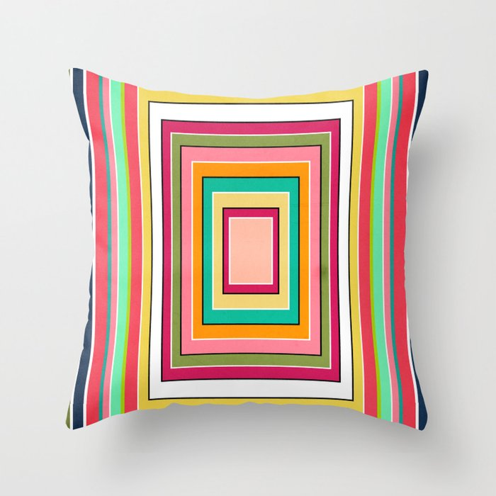 Floor Pattern Throw Pillow by Danny Ivan Society6