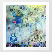 The Small World Experime… Art Print