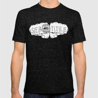 Seattle Seahawks Super B… Mens Fitted Tee Tri-Black SMALL