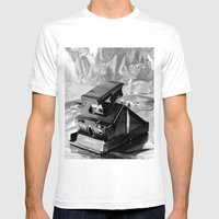 Polaroid SX-70 Mens Fitted Tee White SMALL