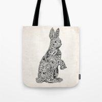 Rabbit2 Tote Bag