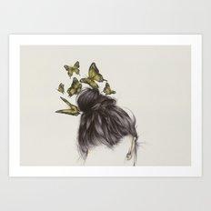 Hair II Art Print