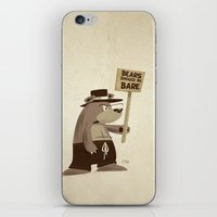Bears Want To Be Bare iPhone & iPod Skin