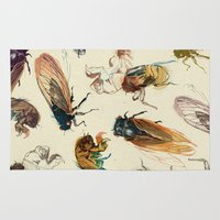 Summer Cicadas Rug