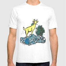 Goatie McGoatersons (colored version) Mens Fitted Tee SMALL White