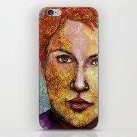 Map Self Portrait iPhone & iPod Skin