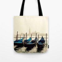 Gondolas in Color Tote Bag