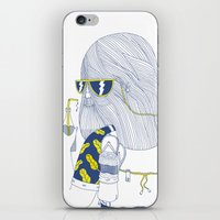 Summer Monster iPhone & iPod Skin
