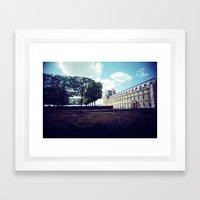 Louvre Gardens I Framed Art Print