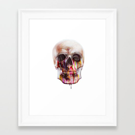 True Blood B Framed Art Print