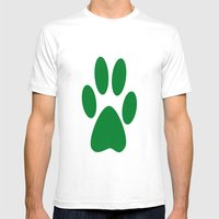 Paw Mens Fitted Tee White SMALL